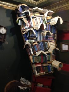 Truly lost in the cosmos The last Bookstore book sculpture